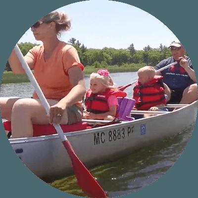 canoe trip image