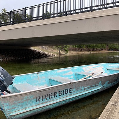 Platte River Fishing Boat Rental - Riverside Canoes