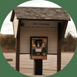National Park pay station